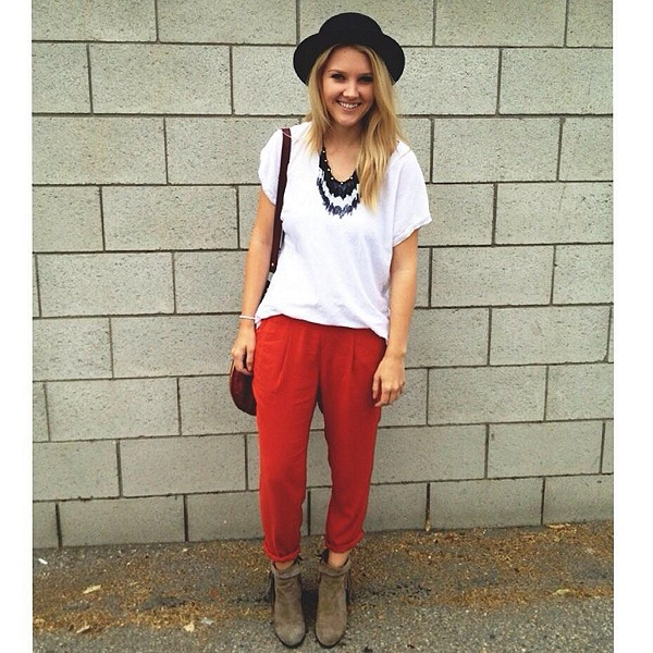 Easy Pleat Pant style pic