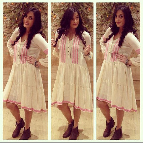 With A Light Heart Dress style pic