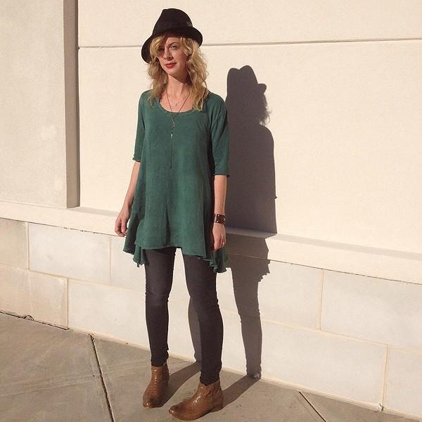 sunshine and a fedora