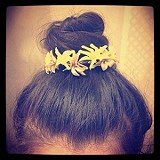 Bun Floral Crown